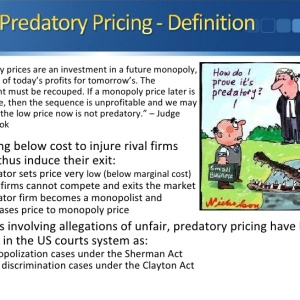 predatory pricing of petrol essay Anti essays offers essay examples  discuss whether indirect taxes on petrol and  subsidise services firms may pursue a policy of predatory pricing.