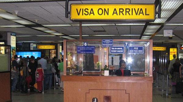 7th January 2015 visa 0n arrival