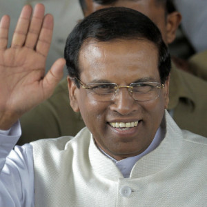 current affairs updates Maithripala_Sirisena