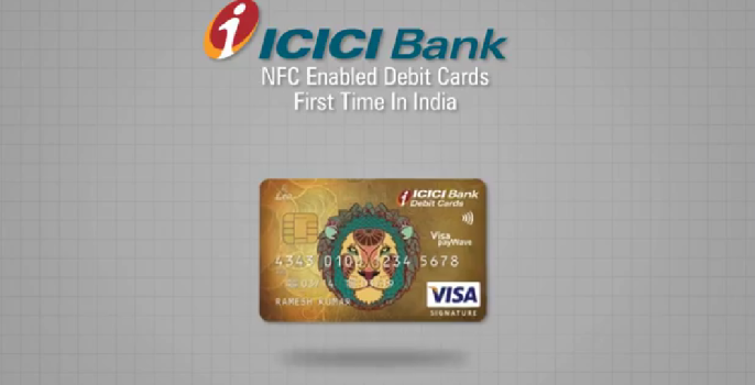 icici contactless payment cards