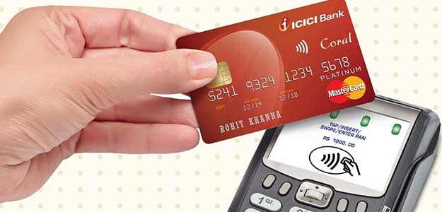 icici contactless credit and debit card