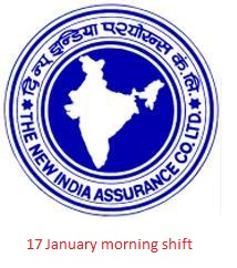 questions asked in new india assurance